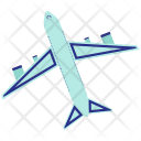 Plane Aeroplane Airliner Icon
