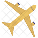 Plane Vehicle Transport Icon