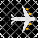 Plane Logistics Transport Icon