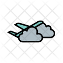 Plane Cloud Icon