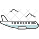 Airplane Delivery Express Icon