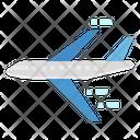 Plane Airplane Transport Icon