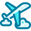 Plane Travel Flight Icon