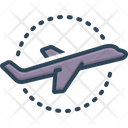 Plane Aviation Airliner Icon