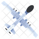 Drone Military Aircraft Icon