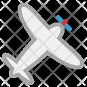 Personal Plane Aeroplane Icon