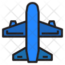 Plane Airplane Transport Icon
