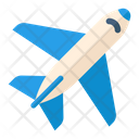 Plane Flight Aeroplane Icon