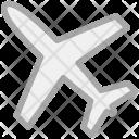 Plane Airplane Airbus Icon