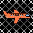 Plane Flight Airplane Icon
