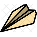 Plane Flight Paper Icon