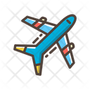 Plane Transportation Flight Icon