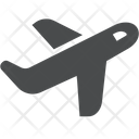 Airplane Air Plane Vehicle Icon