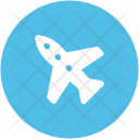 Plane Airplane Aeroplane Icon