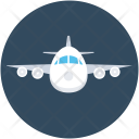 Plane Airplane Airliner Icon