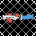 Ads Advertisement Plane Icon