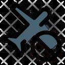 Plane Ban No Travel Travel Icon
