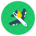 Plane Crash Icon