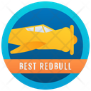 Plane Emblem Badge Reward Icon