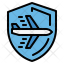 Airport Insurance Plane Icon