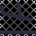 Plane Landing Icon