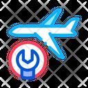 Plane Maintenance Icon