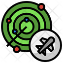 Plane Radar Flight Tracking Icon