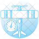 Plane Speed Icon