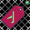 Plane tag Icon