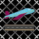 Plane takeoff Icon