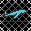 Plane Aeroplane Takeoff Icon