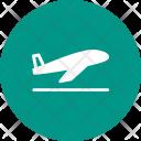 Aeroplane Plane Takeoff Icon