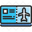Plane Ticket Flight Ticket Ticket Icon