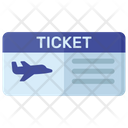 Plane Ticket Plane Voucher Air Travelpass Icon
