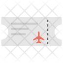 Plane Ticket Airline Icon