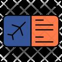 Ticket Flight Plane Ticket Icon