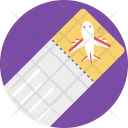 Ticket Plane Travelling Icon