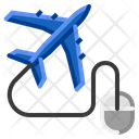 Airplane Travel Concept Icon