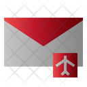 Mail Airplane Message Icon