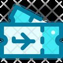 Tickets Airplane Ticket Plane Tickets Icon