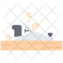 Plane Tool Chips Icon