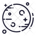 Space Galaxy Science Icon