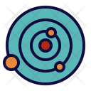 Planet Orbits System Icon