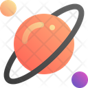 Planet Astronomy Galaxy Icon