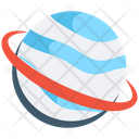 Planet Earth Globe Icon