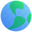 Planet Earth Ecology World Icon