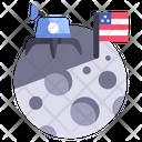 Planet Universe Spaceship Icon