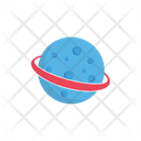 Moon Planet Space Icon