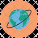 Planet Globe Orbit Icon