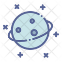Space Astronomy Science Icon